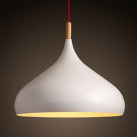 New modern minimalist style of Nordic personality white pend...