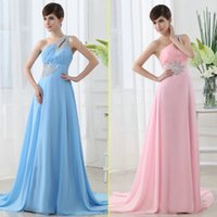 Sky Blue Pink Bridesmaid Dresses Cheap Under 100$ SSJ In Sto...