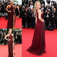 Blake Lively Cannes Celebrity Red Carpet Gowns 2015 Cheap Ha...
