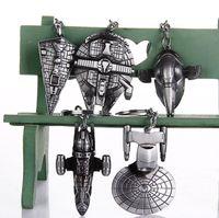 Star Wars chaveiros moda Garrafa Star Wars Millennium Falcon de Metal Alloy abridor chaveiro filme presente da jóia 1759