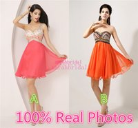 2015 Rhinestone Short Homecoming Dresses For Sweet Sixteen T...