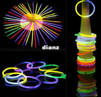 Mode Hot Christmas festivities ceremonie bracelets fluorescents, bâtons lumineux de nuit Jouets LED
