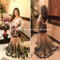 Arabic Dubai Mermaid Evening Dresses For 2015 Winter Ball 20...