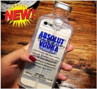 For iP SE Fashion 3D Absolute Vodka Bottle Case Cover for Ap...