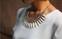 Hot New Women Fashion Crystal Pendant Chain Choker Chunky St...