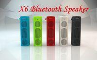 X6 Bluetooth Wireless Portable Speaker X6 sport outdoor blue...