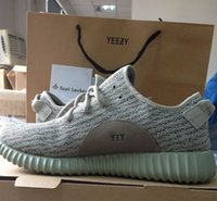 With YEEZY BAG, RECEIPT Perfect Yeezy Boost 350 TAN 1: 1 Kany...