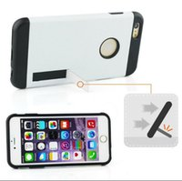 hybrid Plastic TPU case with PC stand Case For Iphone 6 4. 7&...