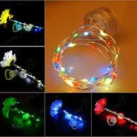 led copper wire string fairy light lights waterproof battery...