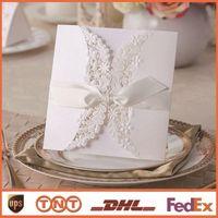 Blank wedding invitations wedding invitations chip openwork ...