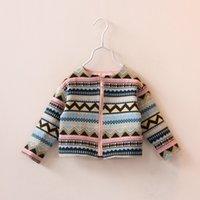 NEW ARRIVAL baby girl kids stripe hoodie coat blazers cardig...