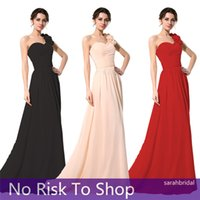 2015 Cheap Long Bridesmaid Dresses Under 60$ Blush Red Black...