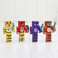 4pcs set 7cm Five Nights At Freddy' s 4 FNAF Foxy Chica ...