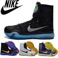 Nike Kobe X 10 Flyknit Elite High Men Basketball Shoes Bryan...