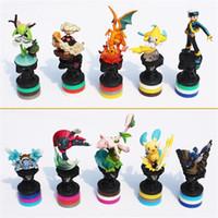 Poke Pikachu Figures PVC Action Figure Collection Model Toys...