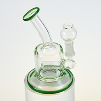 Mini Glass Water Bongs 5 Inches Bent Tube Glass Water Pipes ...