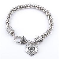 MAM SISTER MIMI NANA membre de la famille de la mode des femmes Bracelet Coeur de haute qualité chaude bijoux en argent sterling Livraison gratuite ZJ-0903552again