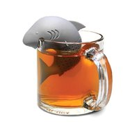 Silicone Strainers Tea Infuser Shark Shap Strainer infusor E...