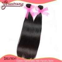 8~34 Inch 5A 100% Real Brazilian Hair Straight Brazilian Hai...