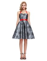 Grace Karin Stock 50s 60s Retro Vintage HalterTaffeta Party ...