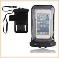 Natación del bolso Universal Clear PVC Funda impermeable bolso seco para los teléfonos móviles para Iphone 6 más