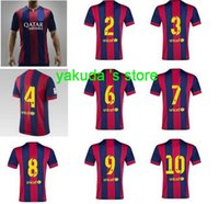 14- 15 Season Customized Thailand Quality home jerseys shirt ...