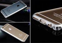 DHL free ship Iphone6 plus phone case, iphone6 metal frame c...