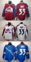 Colorado #33 patrick roy Cheap Hockey Jerseys ICE Winter men...