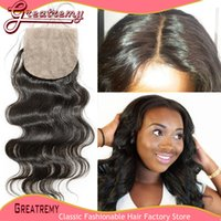 Silkbase Top Closure Brazilian Unprocessed Virgin Human Hair...