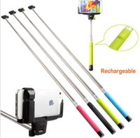 Bluetooth Extendable Handheld Selfie Stick Monopod For iPhon...
