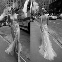 2016 Inbal Dror Lace Wedding Dresses Spaghetti Neckline Back...