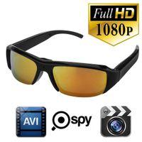 HD 1080P lunettes de soleil caméra Spy caméra cachée caméra DVR caméra sténopé caméra enregistreur vidéo mini lunettes de soleil caméra caméra mini caméra CCTV