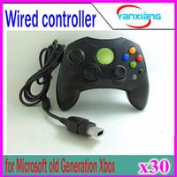 30pcs Wired Controller S Type 2 A pour Microsoft Vieille Génération Xbox Console de jeu vidéo YX-XBOX-03