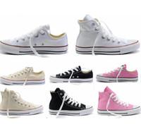 2015 NOUVELLES chaudes 13 couleurs toutes les tailles 35-45 bas de sport de stars chuck les chaussures classiques de chaussure de toile hommes / chaussures de toile des femmes