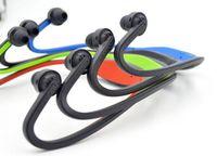 Наушники S9 Беспроводная гарнитура Bluetooth Спорт диктор шейным наушник Bluetooth 4.0 с розничным пакетом 20 шт UP DHL