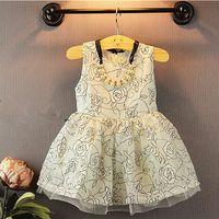 2015 NEW ARRIVAL BABY GIRL KIDS KOREAN DRESS JUMPER SUNDRESS...