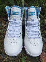 Wholesale- 2015 Hot Sale Currys 1 One Mvp Mens Basketball Sho...