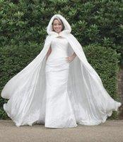 2015 Winter Cape Wedding Dresses Faux Fur Women Long Sleeves...
