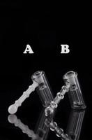 Nouveau marteau en verre 6 percuteur de verre de bras percolateur bouillonne pipe d'eau tuyaux de fumée de verre tuyau de verre