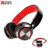 2016 marque pliable oreillette stéréo musique casque écouteurs annulation de bruit casque de jeu casque filaire comme un téléphone intelligent mp3 ordinateur pc