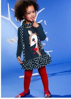 1 pieces retail hot selling fashion kids girls cake deer des...