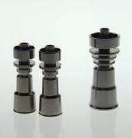100% 14.4mm Gr2 Titanium domess clou, 10mm et 18.8mm toute utilisation de l'eau en verre bong