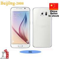 5. 1 inch S6 Dual Core MTK6572 Ulock Phone 1: 1 s6 G9200 Smart...