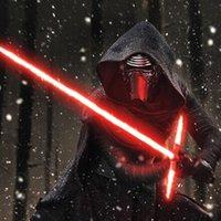 Звездные войны Сила пробуждает Kylo Рен Выдвижная световым привело световые мечи LED подсветка игрушки Ролевая игра игрушки