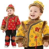New Arrivals Children Tang Suit Boys Chinese Traditional Clo...