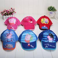 New Fashion Pink Pig red Summer Baseball Cap Children Cartoo...