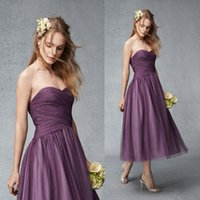 Purple Bridesmaids Dresses Under 100 - Ocodea.com