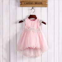 European New Princess Girls Party Dress Lace Suspender Tulle...