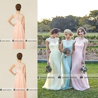 Elegant Chiffon Bridesmaid Dresses For 2015 Spring Summer Be...