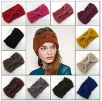 New 2015 Knitted Women Headbands Kids 20 Colors Fashion Hand...